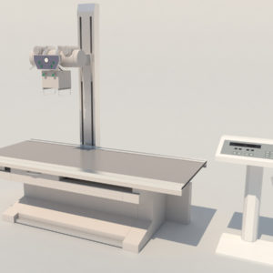 High Frequency Radiography X-Ray Machine 3D Model