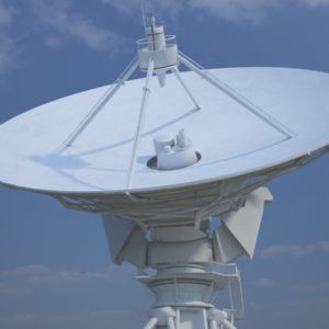 Large Array 3D Model – Realtime