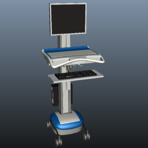 medical-mobile-computer-cart-3d-model-10