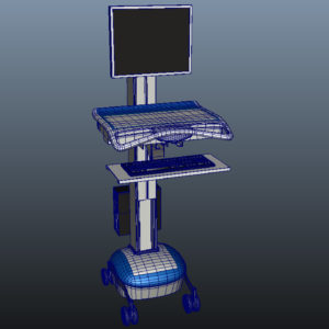 medical-mobile-computer-cart-3d-model-11
