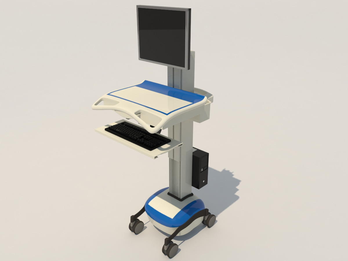 medical-mobile-computer-cart-3d-model-9