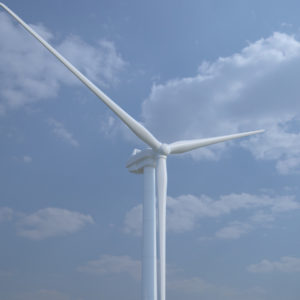 Wind Turbine 3D Model – Realtime