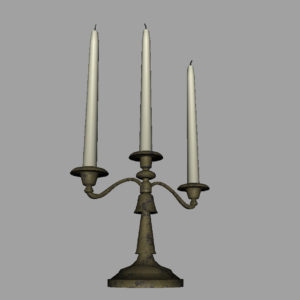 antique-triple-candle-candelabra-3d-model-12