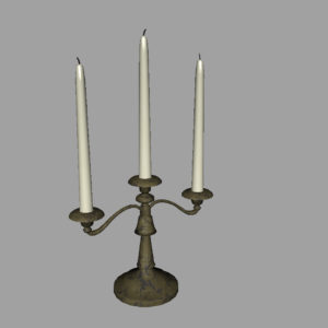 antique-triple-candle-candelabra-3d-model-5