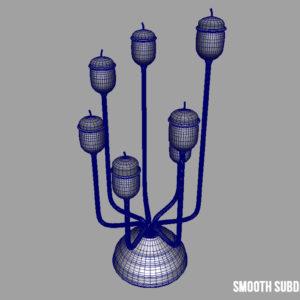antique-candle-holder-candlesticks-3d-model-10