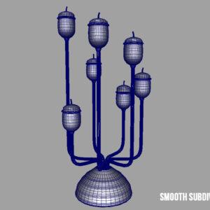 antique-candle-holder-candlesticks-3d-model-16