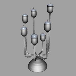 antique-candle-holder-candlesticks-3d-model-5