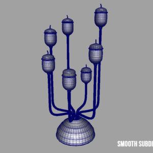 antique-candle-holder-candlesticks-3d-model-7