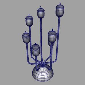 antique-candle-holder-candlesticks-3d-model-9