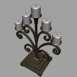 antique-candle-holder-metal-3d-model-12