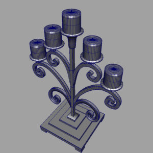 antique-candle-holder-metal-3d-model-13