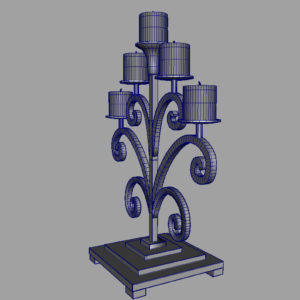 antique-candle-holder-metal-3d-model-15