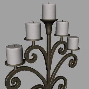 antique-candle-holder-metal-3d-model-16
