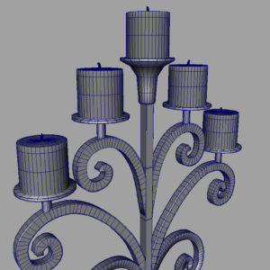 antique-candle-holder-metal-3d-model-17