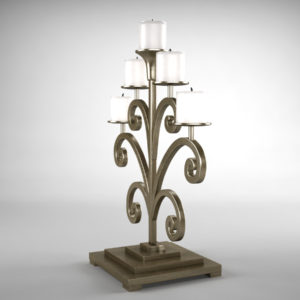 antique-candle-holder-metal-3d-model-2