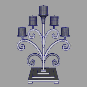 antique-candle-holder-metal-3d-model-7