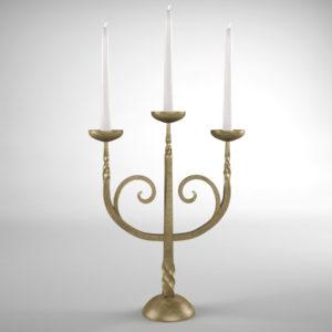 candle-holder-vintage-3d-model-1
