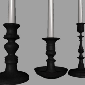 candle-sticks-antique-black-3d-model-14