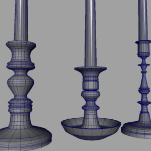 candle-sticks-antique-black-3d-model-15
