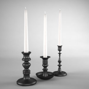 candle-sticks-antique-black-3d-model-3