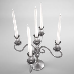 candlestick-holder-antique-silver-3d-model-3