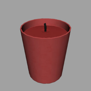 christmas-candle-3d-model-7