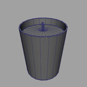 christmas-candle-3d-model-8