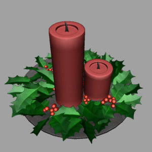 christmas-candle-holly-leaves-3d-model-10