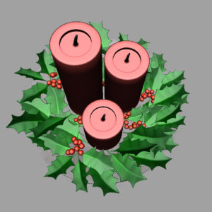 christmas-candle-holly-leaves-3d-model-12