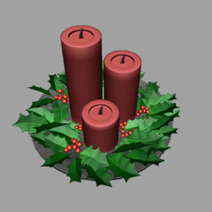 christmas-candle-holly-leaves-3d-model-8