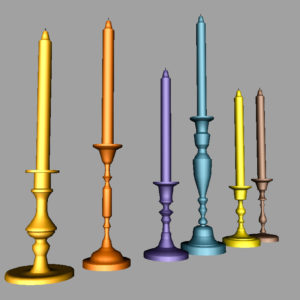 colorful-candlestick-candle-holder-3d-model-collection-12