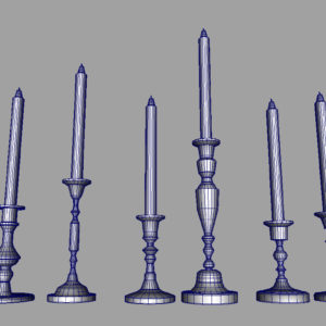 colorful-candlestick-candle-holder-3d-model-collection-17