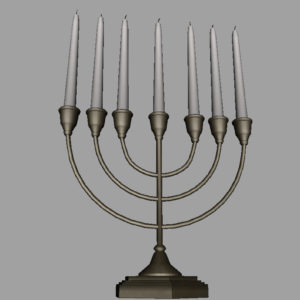 jewish-candle-holder-candlesticks-3d-model-10