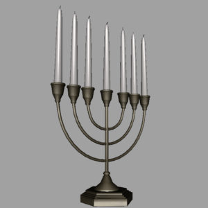 jewish-candle-holder-candlesticks-3d-model-12