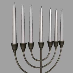 jewish-candle-holder-candlesticks-3d-model-14