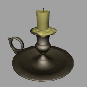old-brass-candlestick-3d-model-9