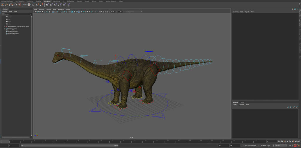 Brontosaurus-rig-demo-maya-animation-screenshot-maya-2018
