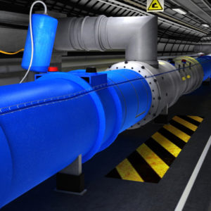 Cern Large Hadron Collider 3D Model