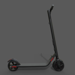 Segway Ninebot Kick Scooter ES2 3D Model – PBR
