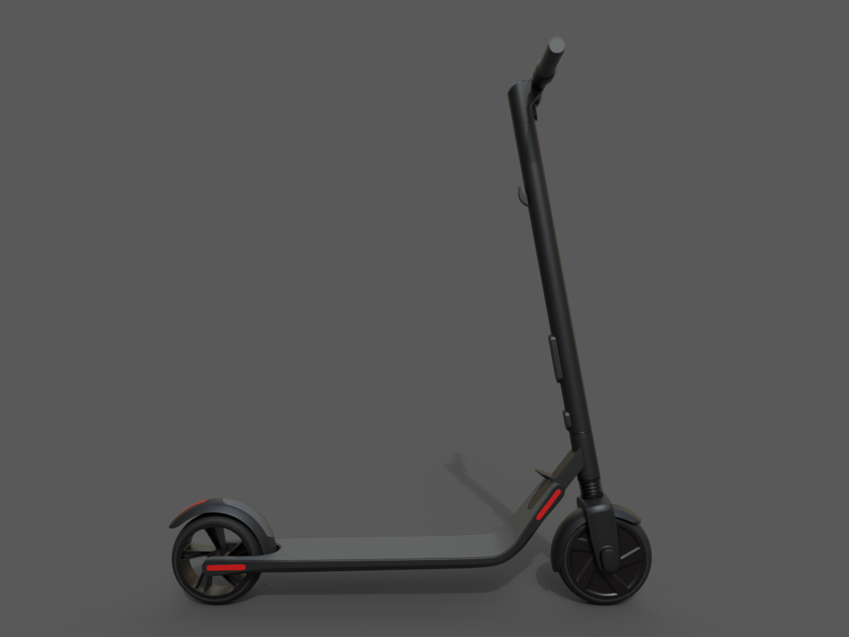 Segway Ninebot Kick Scooter ES2 3D Model - PBR - 3D