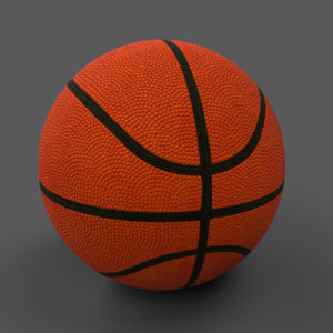 Basketball Ball PBR 3D Model