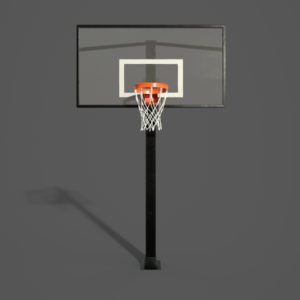 Basketball Hoop PBR 3D Model