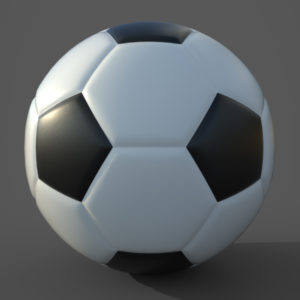 Soccer Ball PBR 3D Model