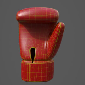 boxing-glove-pbr-3d-model-physically-based-rendering-wireframe-1