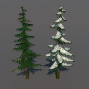 confir-trees-spring-tree-snow-tree-3d-models-1