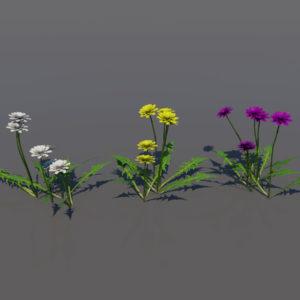 flowers-3d-models-1