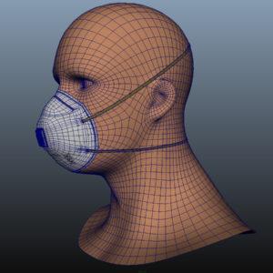 n95-respirator-face-mask-pbr-3d model-12