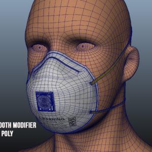n95-respirator-face-mask-pbr-3d model-16