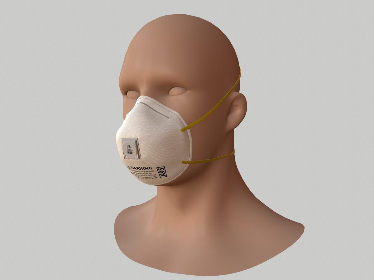 n95-respirator-face-mask-pbr-3d model-1a