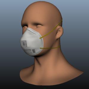 n95-respirator-face-mask-pbr-3d model-5